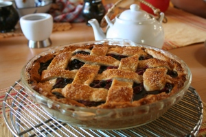 Blueberry Raspberry pie.